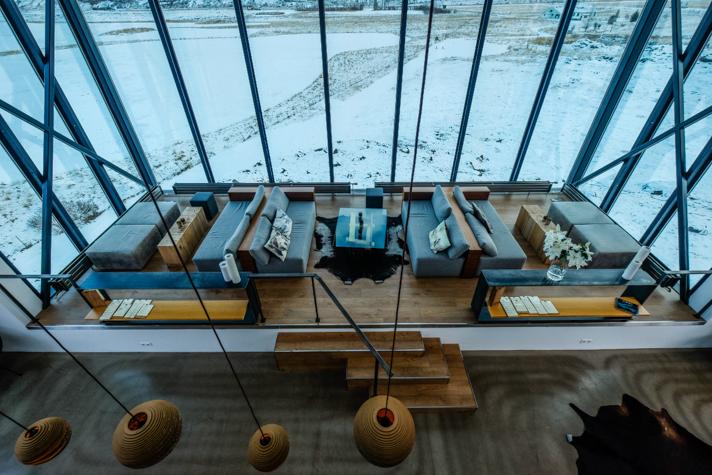 Design - l'Ion hôtel en Islande