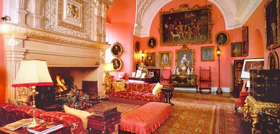 Pièce principale- château de Glamis-Écosse