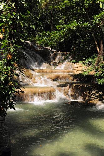 Les chutes d'eau Dunn - Croisière avec Crystal Cruises - Jamaïque