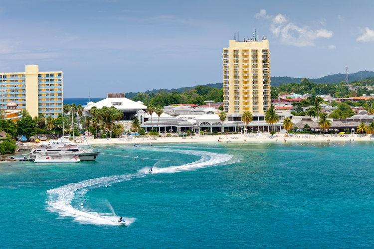 Côte en Jamaïque- Croisière avec Crystal Cruises