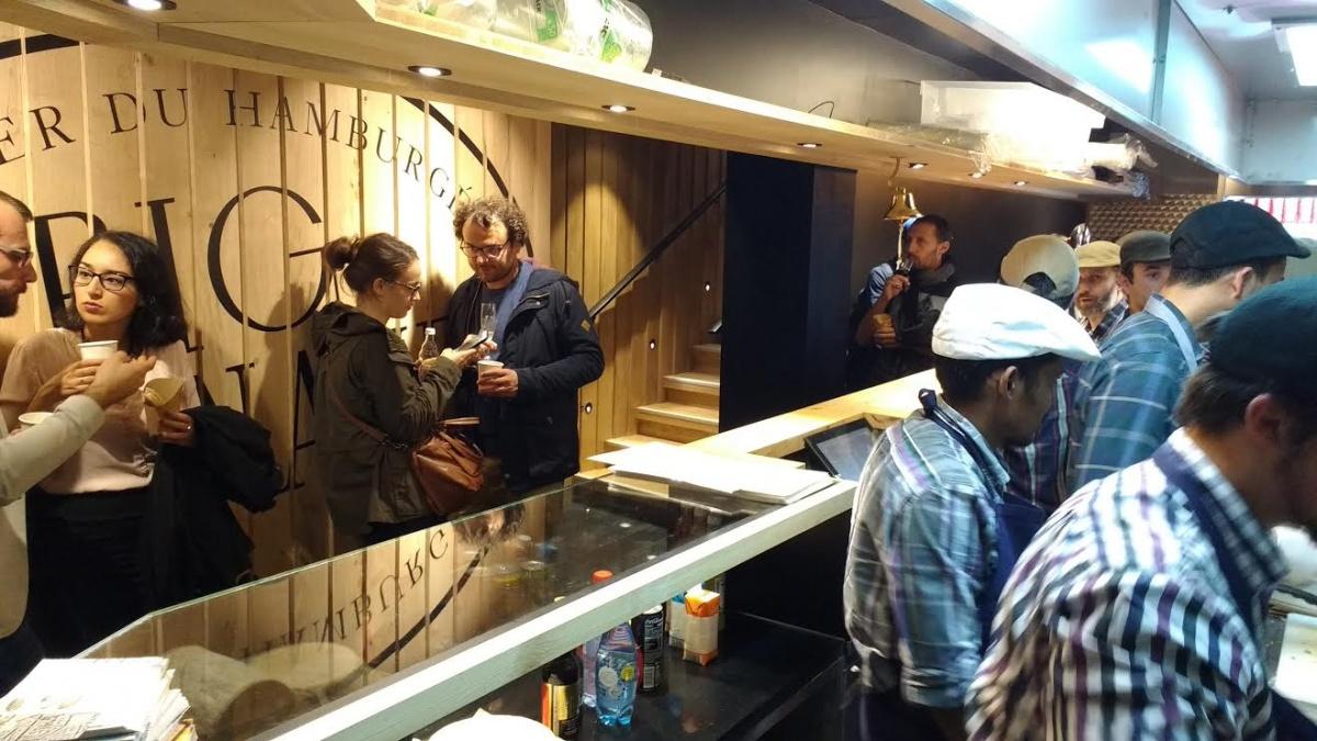 Ambiance chez Big Fernand - hamburger de qualité - Toulouse