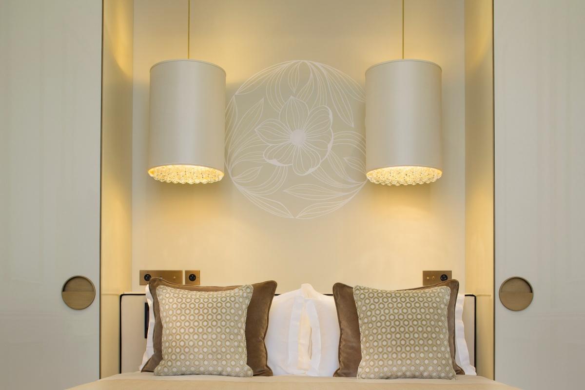 Tête de lit - Narcisse Blanc Hôtel & Spa - Paris