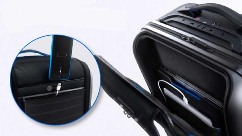 Pochette - Bluesmart - valise connectée - voyage