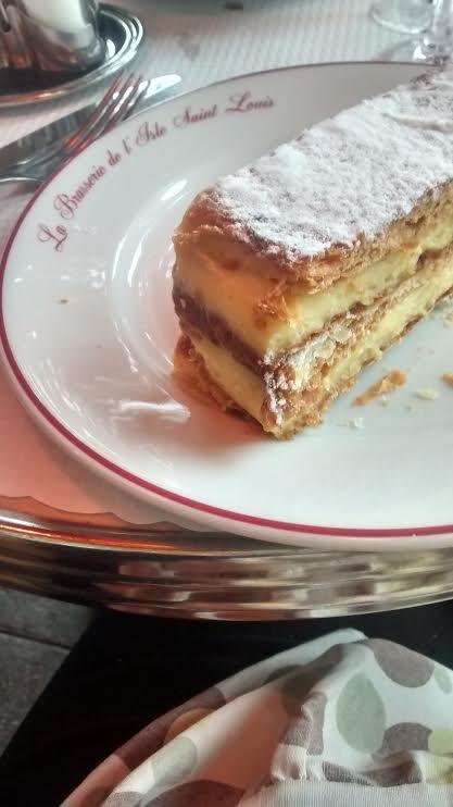 dessert - La brasserie de l'île Saint Louis - Paris