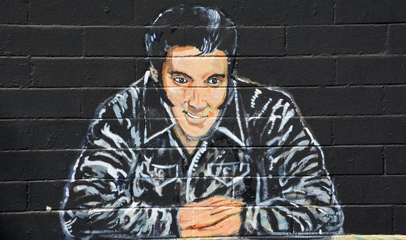 Graffiti d'Elvis - Memphis - Croisière