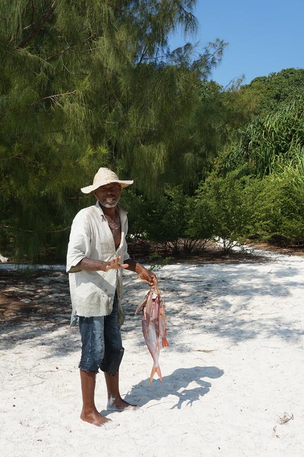 Pêche au Mnemba Island Lodge à Zanzibar