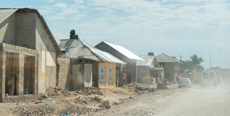 Voyage à Zanzibar - Stone Town - nuage de poussière