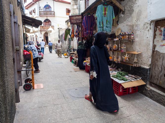 Voyage à Zanzibar Stone Town - rue