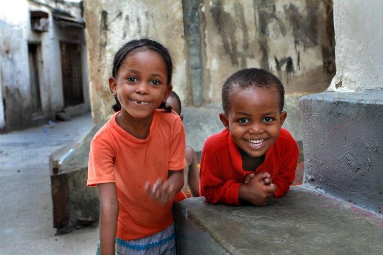 Voyage à Zanzibar -Stone Town - enfants des rues