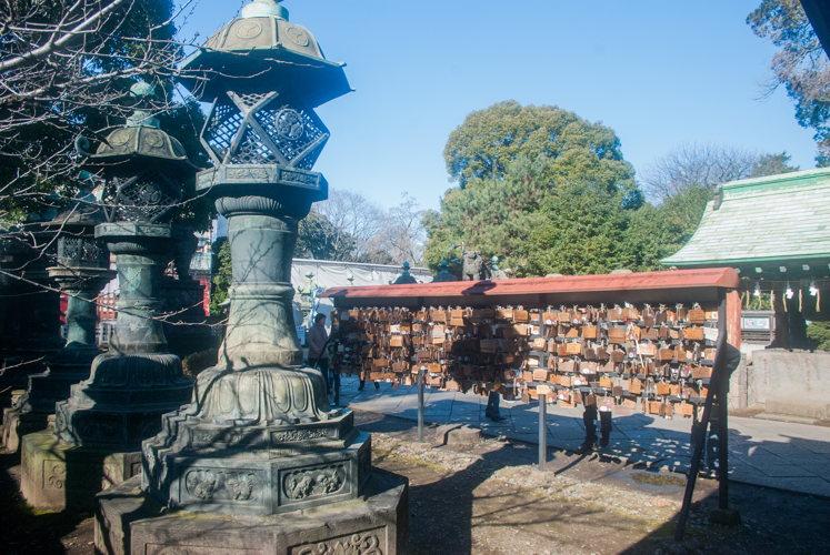 Acheter une prière à Akasaka à Tokyo au Japon