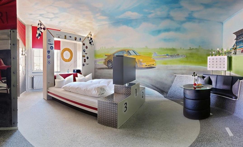Une autre chambre de l'hôtel V8 à Stuttgart