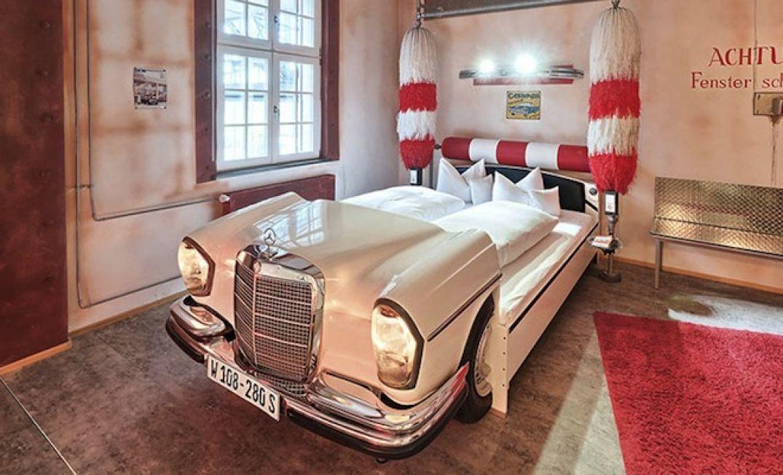 Prête à rêver d'un lavage express au V8 Hôtel à Stuttgart