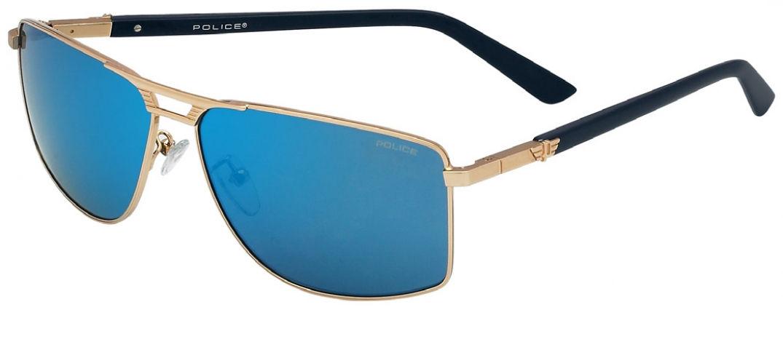 Une paire de lunettes de soleil très aviateur chez Police