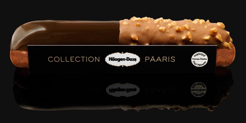On se délecte déjà de cet éclair chocolaté et glacé Häagen-Dazs... A tester obligatoire