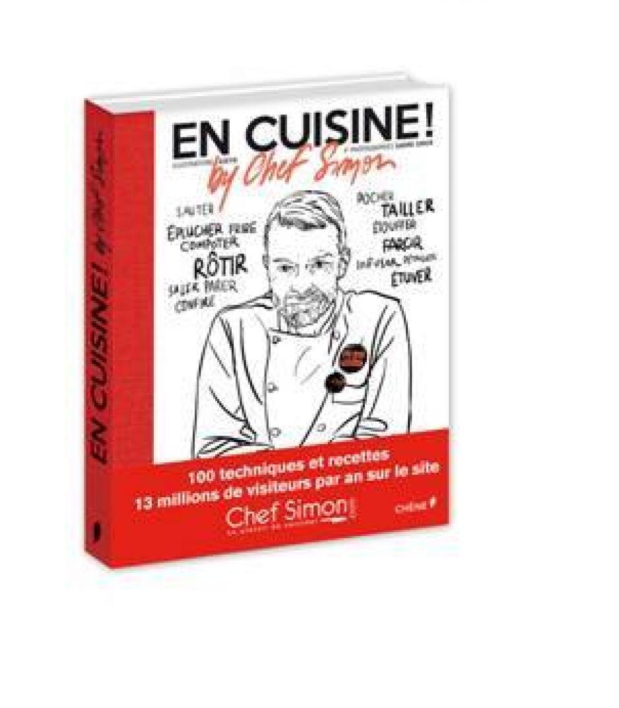 Paru en octobre son ouvrage est déjà réimprimé par les Éditions du Chêne, grâce au buzz de ces fans sur internet.En effet son site reçoit plus de 13 millions de visites par an, ce qui en fait le site internet culinaire le plus consulté de France http://chefsimon.lemonde.fr/.