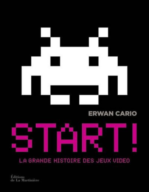 Parce qu'il a bien fallu commencer un jour : Start d'Erwan Cario retrace l'histoire des jeux vidéo. Consoles, ordinateurs... Tout y retracer avec précision. Les jeux arcade, en passant par Pac Man... Bref, l'idéal pour les amoureux d'histoire du jeu vidéo. Prix : 19