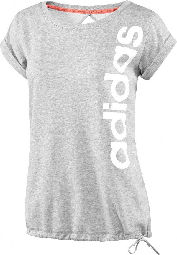 Tee-shirt gris adidas