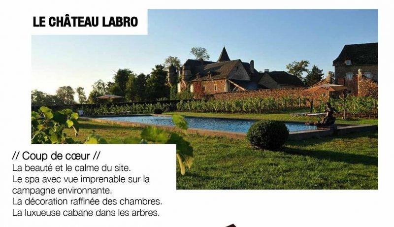 Le château Labro en Aveyron