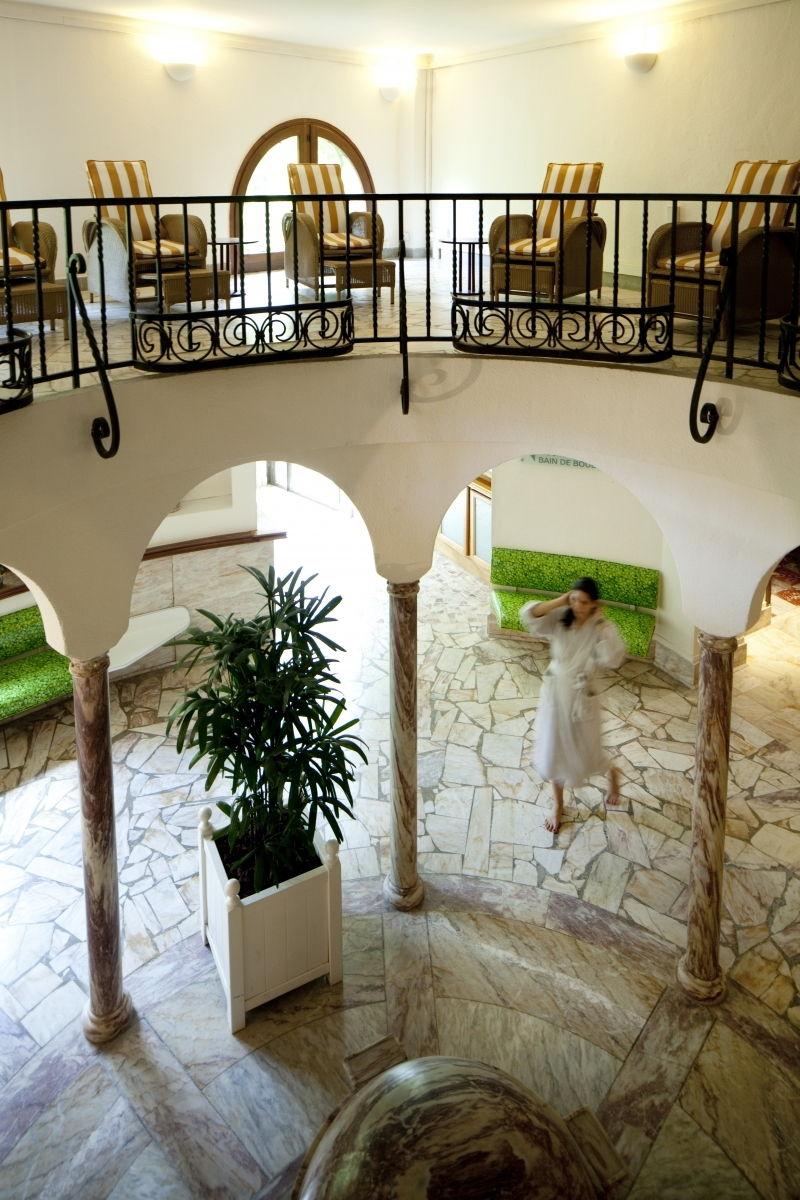 Les espaces communs au spa à Moligt les bains