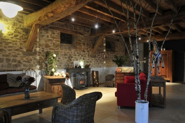 Ambiance de Noël au Mas de la Tourelle en Aveyron