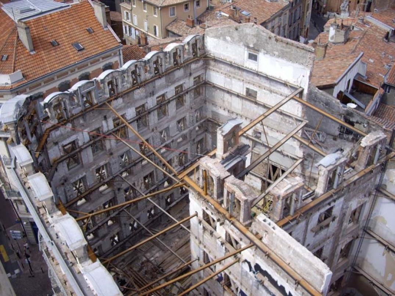 Le Grand Hôtel le Capoul à Toulouse en travaux