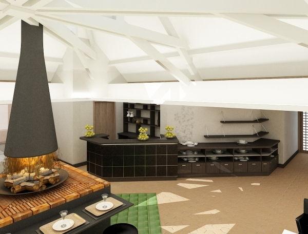Le coin restaurant du spa La Roche Posay