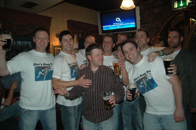 Un soir de match de rugby dans Dublin
