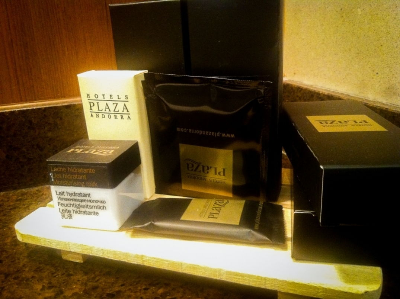 Les produits de beauté du Plazza Andorra