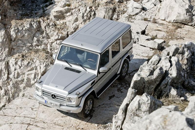 Le classe G de Mercedes Benz