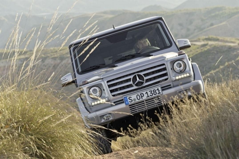 Tout terrain, ce classe G de Mercedes Benz