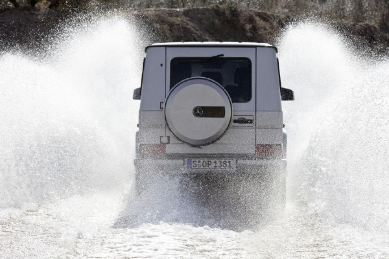 Voyagez stylées avec Le classe G de Mercedes Benz, l'assurance du tout-terrain ! 05