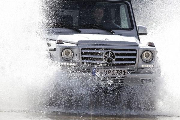 Le classe G de Mercedes Benz, option tout terrain