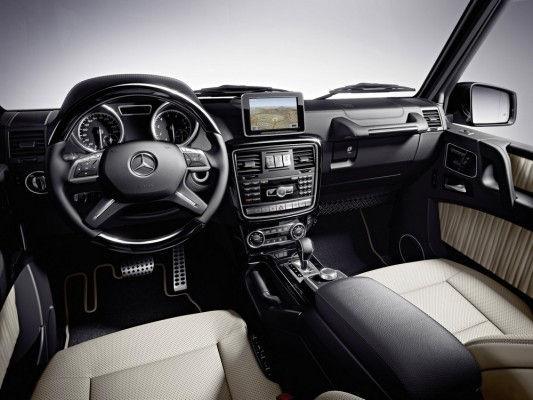 Intérieur élégant pour le classe G de Mercedes Benz