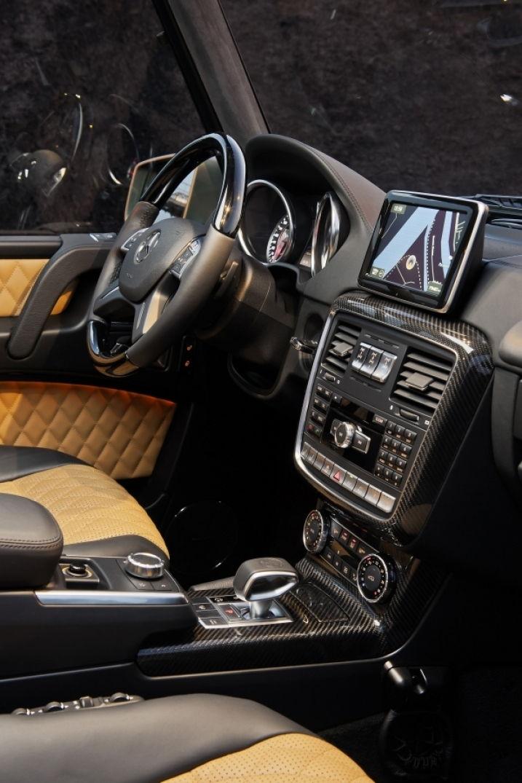 Voyagez stylées avec Le classe G de Mercedes Benz, l'assurance du tout-terrain ! 09
