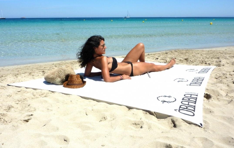 Les serviettes Obaba pour la plage