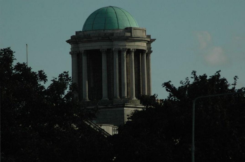 Vue sur toit à Dublin