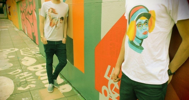 QR empire, des tee-shirts très street art