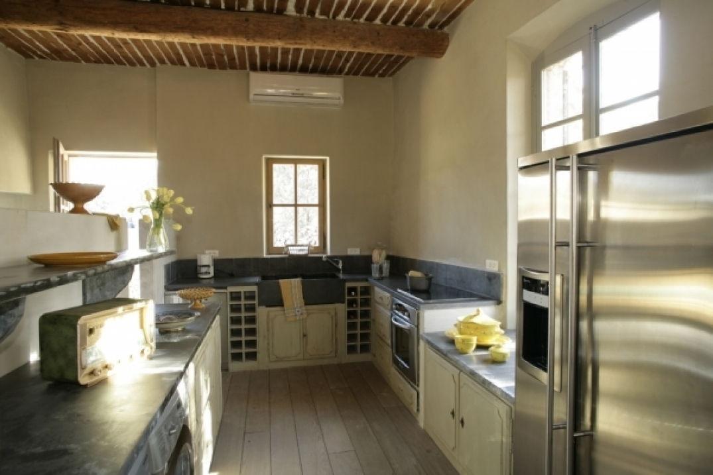 Dans la cuisine du Domaine de Capelongue