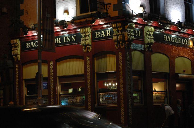 Dans Temple Bar à Dublin