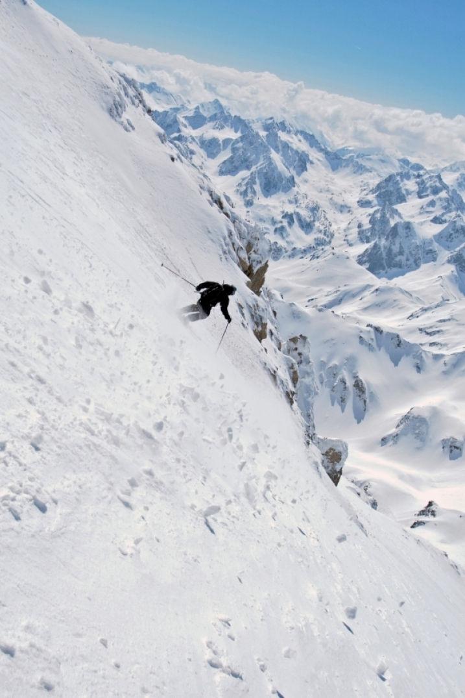 Pour skier free ride dans les Pyrénées
