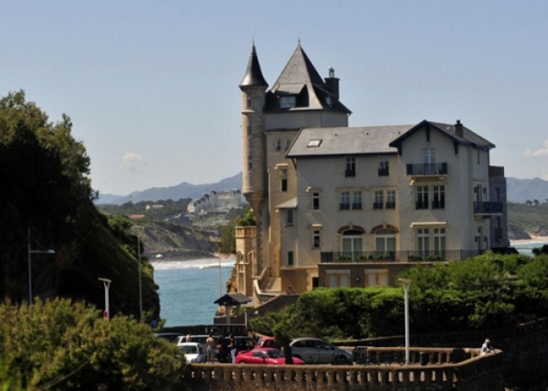 Une ancienne villa bourgeoise à Biarritz