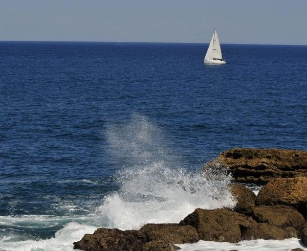 La fougue de l'océan à Biarritz l'irrésistible