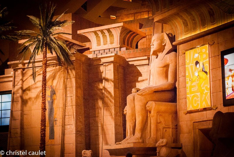 Décor incroyable - Luxor à Las Vegas