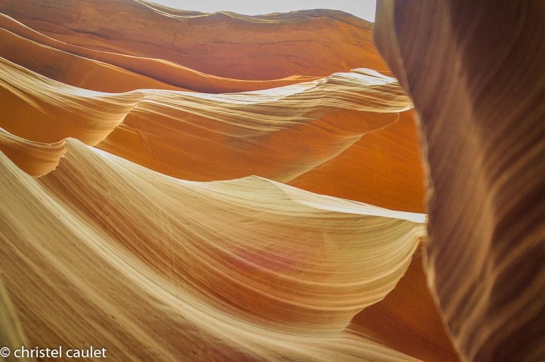 Road-trip USA - lumière éclatante à Antelope Canyon