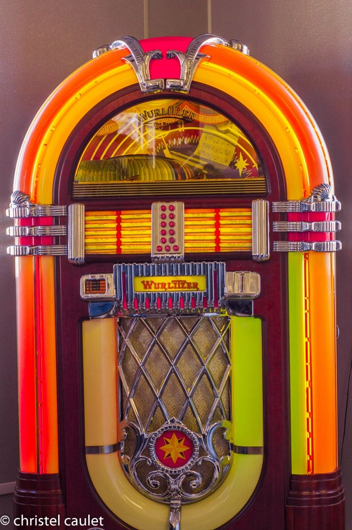 Un juke box aux USA