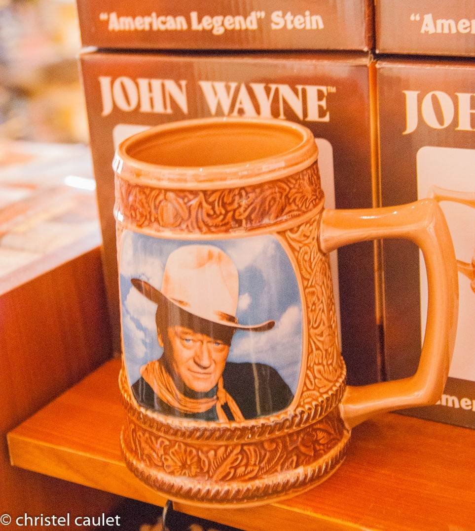Road-trip USA - tasse à l'effigie de John Wayne - Monument Valley