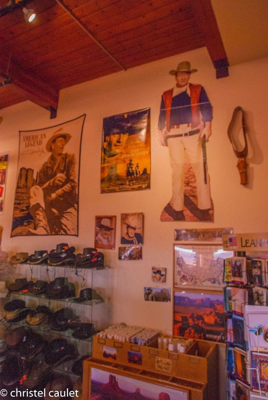 Road-trip USA - boutique de l'accueil de Monument Valley