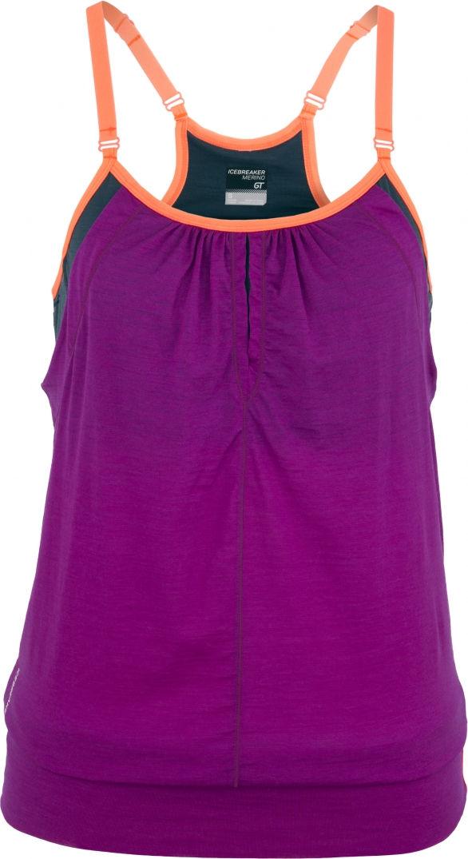 Tee shirt violet Icebreaker
