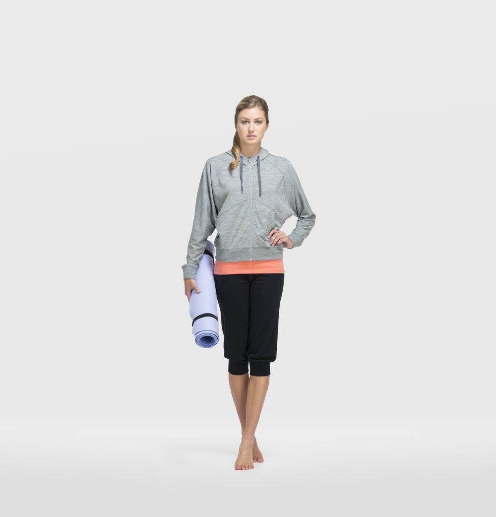 Une tenue de yoga à la Icebreaker