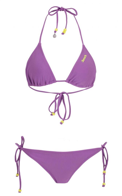 Maillot deux pièces violet Bench